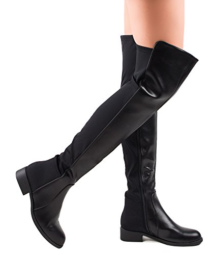 rof-precise-12-over-knee-high-bootsblack-pu-size-85-