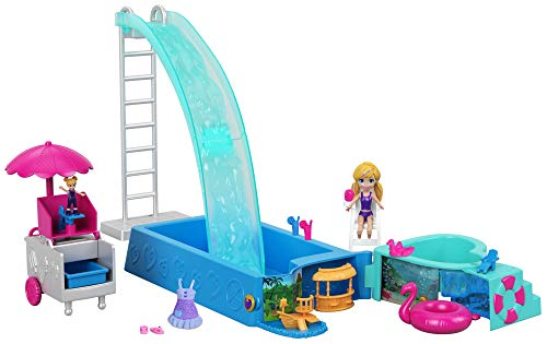 Polly Pocket Active Doll Playset, Multicolor