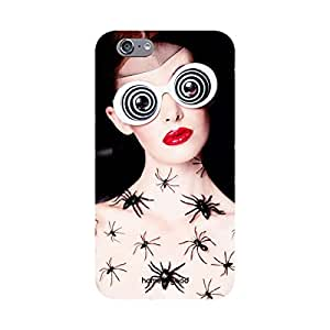 HomeSoGood Crawling Spiders Black 3D Mobile Case For iPhone 6 (Back Cover)