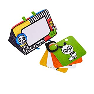 Your baby will flip out over this mirror and flashcard set. High-contrast patterns, like the designs on Baby Einstein's Flip For Art, are easiest for young eyes to see while they're still developing. Until he reaches 6 months, the whole world will ap...