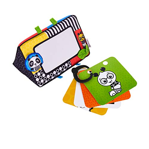 Baby Einstein Flip for Art High Contrast Floor Activity Mirror with Take Along Cards, - Play Mirror Kids