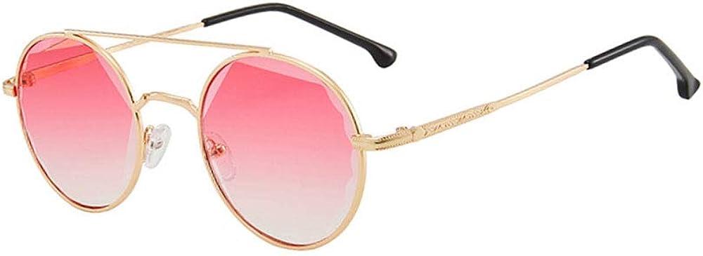 Lunettes de soleil surdimensionnées classiques pour femmes, verres polarisés HD 100% Protection Fashion Lunettes rétro, monture dorée noir gris Cadre Doré Double Rose