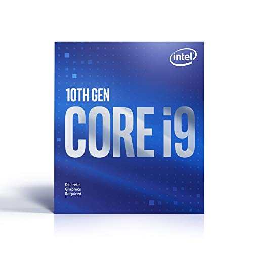 Intel Core i9-10900F (basistakt: 2,80GHz; sokkel: LGA1200; 65Watt) Box, BX8070110900F
