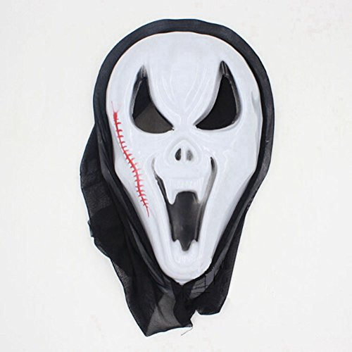 Zehui Can Be Used During Dress Party One Piece Halloween Bleeding Scream Scary Horror Ghost Mask (Cod Ghosts Keegan Costume)