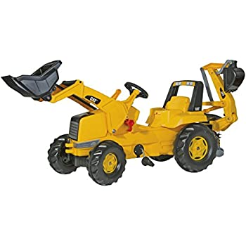 rolly toys CAT Construction Pedal Tractor: Backhoe Loader (Front