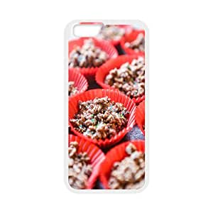 Beautiful Chocolate Cake IPhone 6 Cases, Funny Design Iphone 6 Cases for Girls Protective Kyle5v {White}