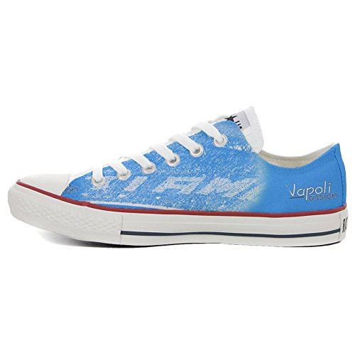 Artesano Producto Converse All Star Napoli personalizados Passion zapatos Slim Customized xCw7ZYqXw