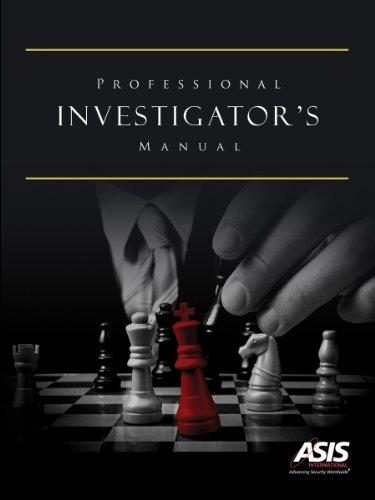 Professional Investigator's Manual