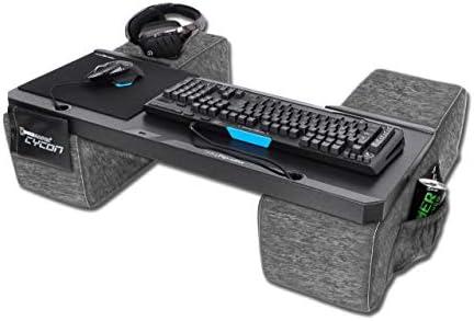 Couchmaster® CYCON - Fusion Grey - Die Couch Gaming Auflage für Maus & Tastatur (für PC / PS4 / Xbox One)