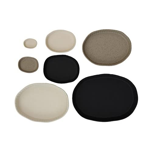 Creative Co-Op Stoneware Nesting Baking Dish Set, , Multicolored