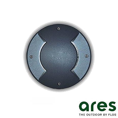 Ares Vega G9 Foco empotrable Bidireccional suelo Exterior IP67 Negro: Amazon.es: Iluminación