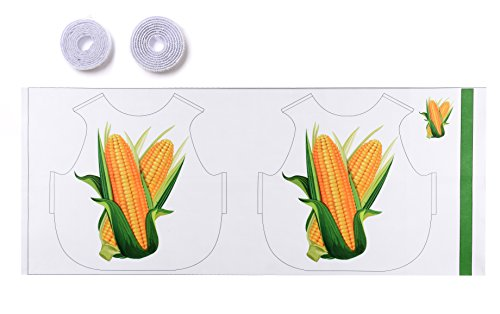 [DANSHOW Children's DIY Patchwork Costumes Souptoys Toys Dance Show Clothes Printed with Corn Kids' Christmas Party Gifts (Height 23.7