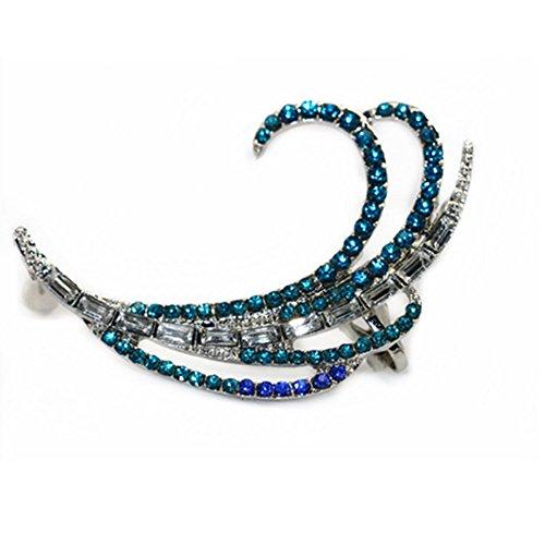 Tabwing Peacock Crystal Ear...