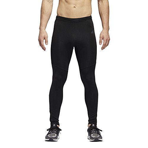 adidas Men's Response Long Tights, Black, Medium