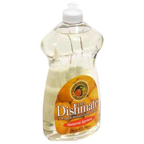 Dishmate Dishwashing - Earth Friendly Products Dishmate Liquid Dishwashing Cleaner, Natural Apricot, 25 Ounces by Earth Friendly Products