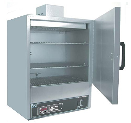 Quincy Lab 40AFE Steel/Aluminum Forced Air Lab Oven with Digital Controls, 2.86 Cubic - Lab Oven