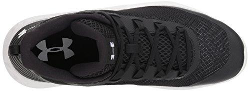 Ua Mid Homme Armour white Under De Basketball black Jet Noir Chaussures HSfw4Zx