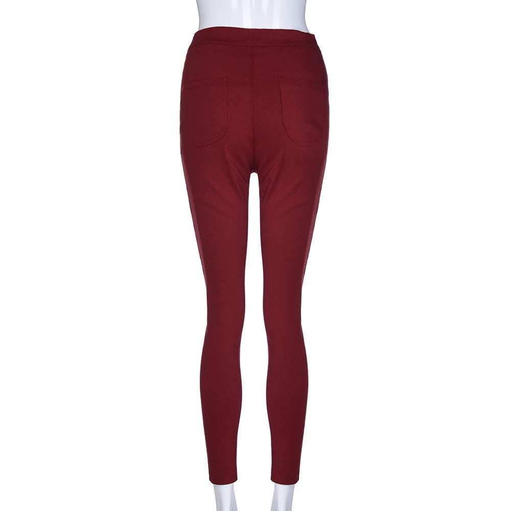 Kehen Fashion Womens Stretch Skinny Ankle Jeans High Waist Rose Embroidered Boho Denim Capri