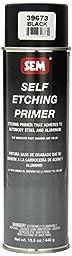 SEM 39673 Black Self Etching Primer - 15.5 oz.