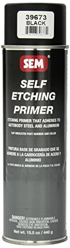 SEM 39673 Black Self Etching Primer - 15.5 oz.