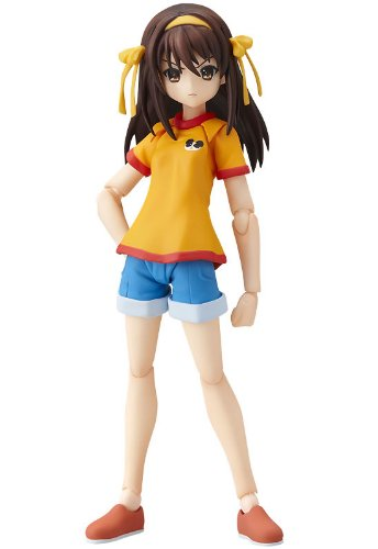 Max Factory The Melancholy of Haruhi Suzumiya: Haruhi Suzumiya Figma Action Figure Middle School Ver.