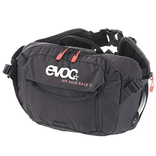 EVOC, Hip Pack Race, 3L with 1.5L Reservoir, Black ()