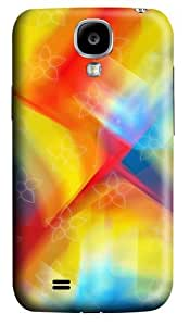 Colorful Polycarbonate Hard Case Cover for Samsung Galaxy S4/Samsung Galaxy I9500 3D