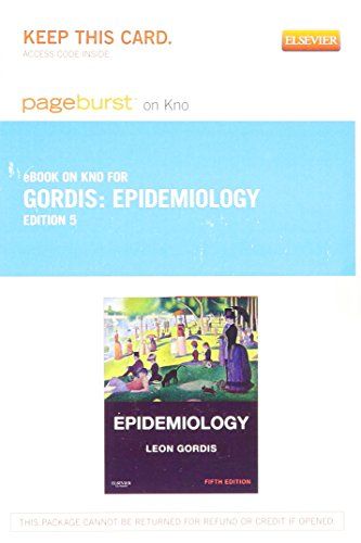 New used books for leon gordis md mph drph epidemiology elsevier ebook on intel education study retail access card 5th 2013 fandeluxe Image collections