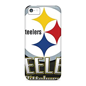 Tpu Cases Covers For Iphone 5c Strong Protect Cases - Pittsburgh Steelers Design Black Friday