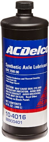 Gm Axle (Genuine GM Fluid (88900401) 75W-90 Synthetic Axle Lubricant - 1)
