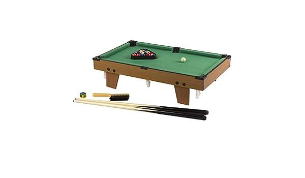 Hogar y Mas Billar Americano Infantil Madera Resistente 2-4 Jugadores. Juego de Billar Juguete con Accesorios para Niños 42,5X37X15,5 cm: Amazon.es: Hogar