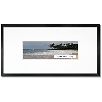 Amazon.com - One 10x20 Gallery Black Wood Picture Frame with 8-Ply ...