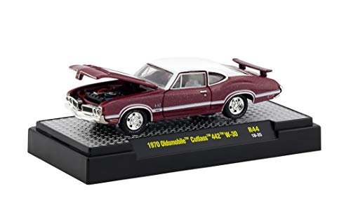 M2 Machines 1:64 Detroit Muscle Release 44 1970 Olds Cutlass 442 W30 Red