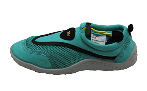 Strap on Scheme Women's Fashionable Color Water Velcro Ankle Aqua Shoes w Slip EUqUaO