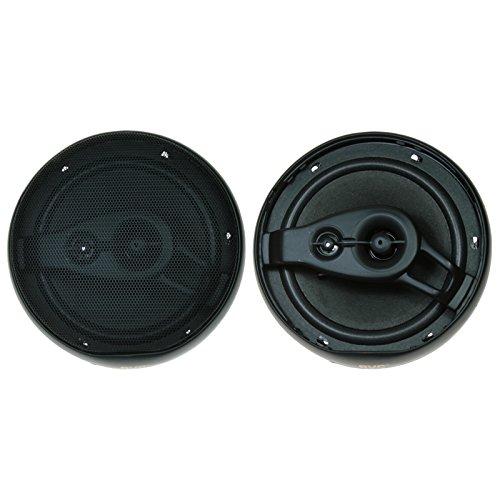 16 cm. AV1680 Altavoces coaxiales para Coche de 100 W BVC 3 v/ías, 91 dB