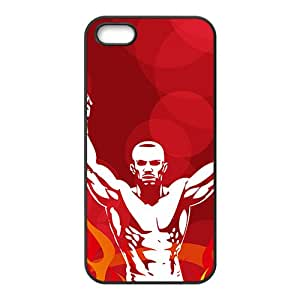 Fiece Strong Man Battle Custom Protective Hard Phone Cae For Iphone 5s