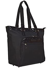 Kenneth Cole Reaction Croc Carry On Tote Bag (Black)