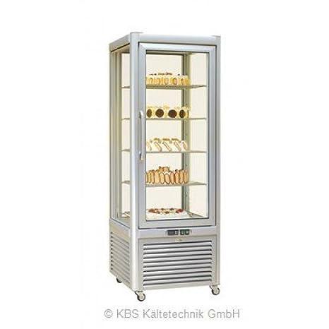 KBS Panorama Congelador vitrina Prisma 400TBV/PF/bronce-con 5Fonte ...