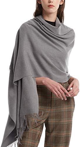 Womens Cashmere Pashmina Blanket Scarves