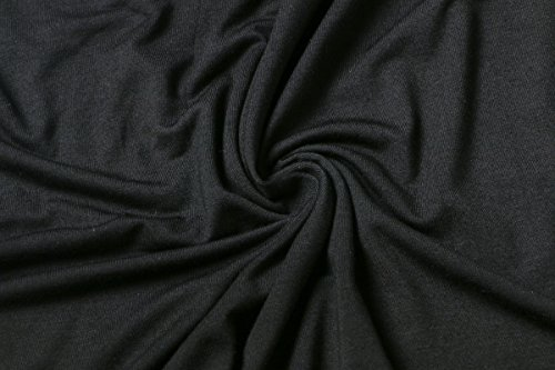 Lunga Baggy Blusa Vintage Camicie Nero Top Semplice Maglietta Blusa Pieghe A Elegante Scollo Tshirt HaiDean Camicette Glamorous Manica Camicia Solido Donna Autunnale V XzZwzx8Yq