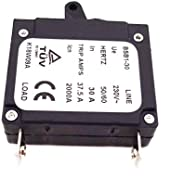 XLYZE 20 AMP 20A in Generator Circuit Breaker 25A Trip Amps 2000A 230V BSB1-30 Hertz 50/60