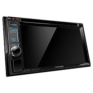 "Kenwood DDX374BT 2-DIN Bluetooth In-Dash CD/DVD/DM Receiver with 6.2"" Touchscreen"