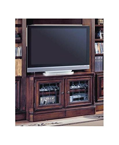 48-72 Inch Expandable TV Console w Glass Doors- Huntington ()