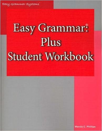 Amazon.com: Easy Grammar: Plus Student Workbook (9780936981147 ...