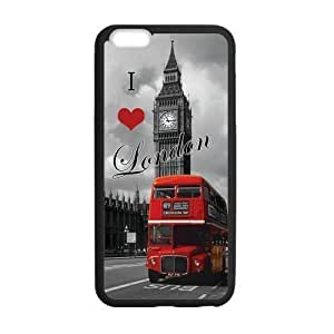 Cool Design Art I Love London Red Bus City for iPhone 6 Plus 5.5