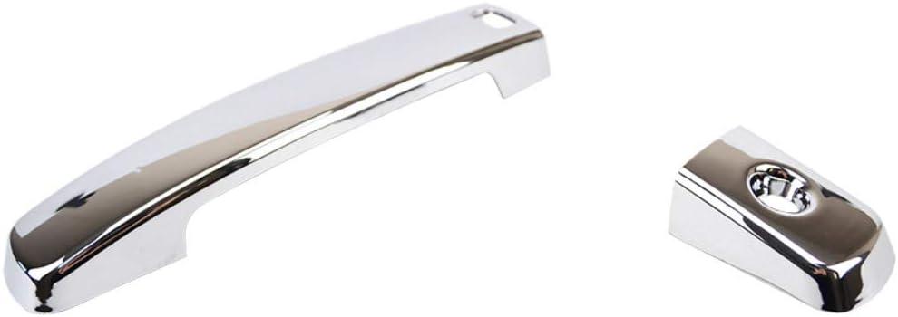 pour Nissan Qashqai 2007-2013 NUIOsdz Couvercle de poign/ée de Porte de Voiture ABS Chrome Accessoires de Garniture de poign/ée de Porte ext/érieure de Voiture