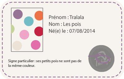 Tichoups Chaussons b/éb/é cuir souple Pierrot les poissons 16//17