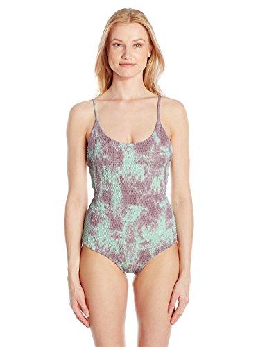 Tori Praver Women's Mykonos Tie Dye Honolua Full One Piece Swimsuit 41ckdFGly5L