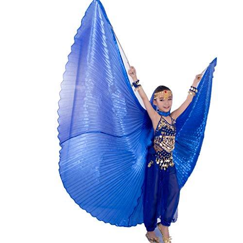 MUNAFIE Halloween Costumes Belly Dance Isis Wings