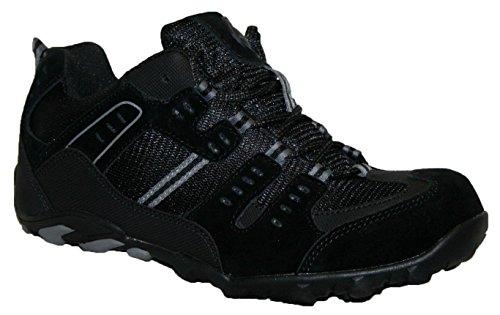 Groundwork - Zapatos para hombres negro/gris